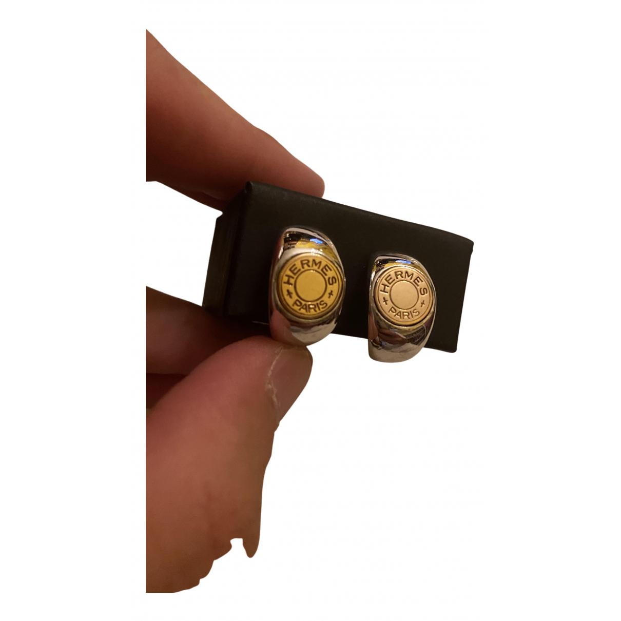 Hermes \N OhrRing in  Gold Silber