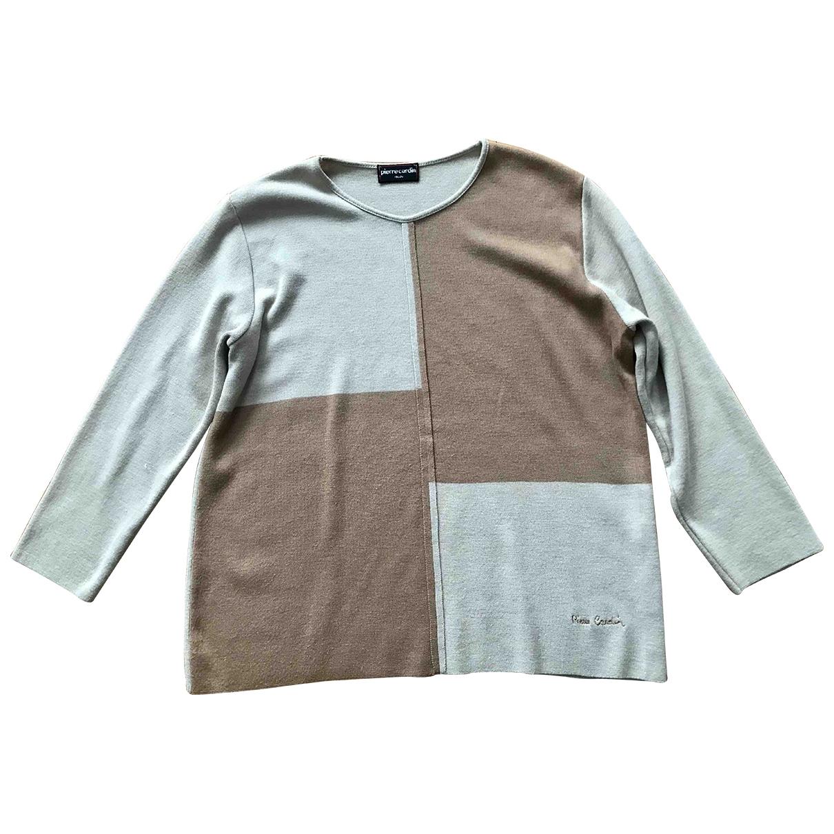 Pierre Cardin \N Beige Wool Knitwear for Women 46 FR