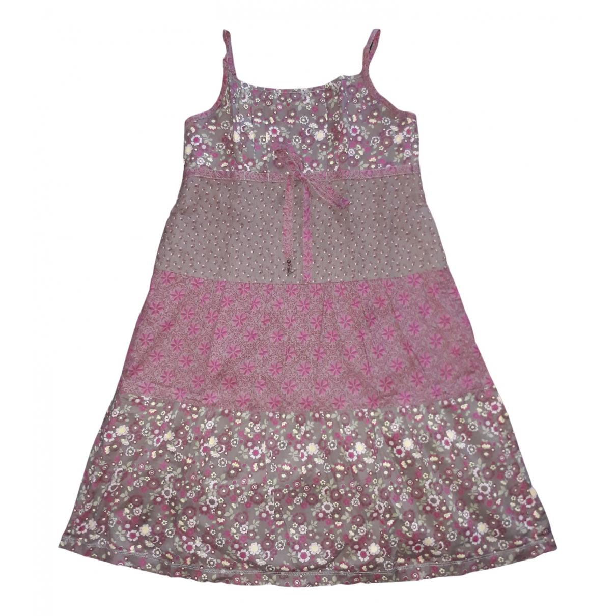 Esprit \N Kleid in  Lila Baumwolle