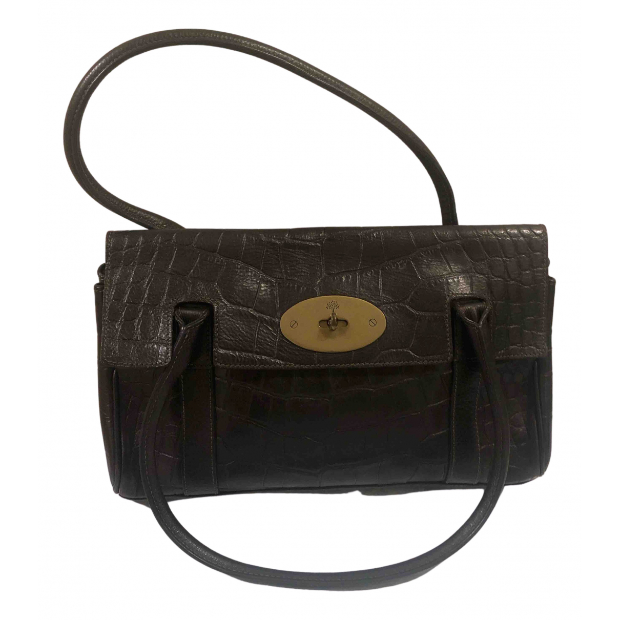 Mulberry - Sac a main Bayswater pour femme en cuir - marron