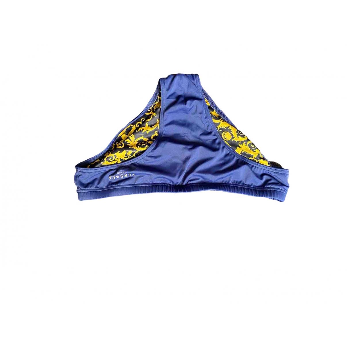 Versace \N Badeanzug in  Blau Synthetik