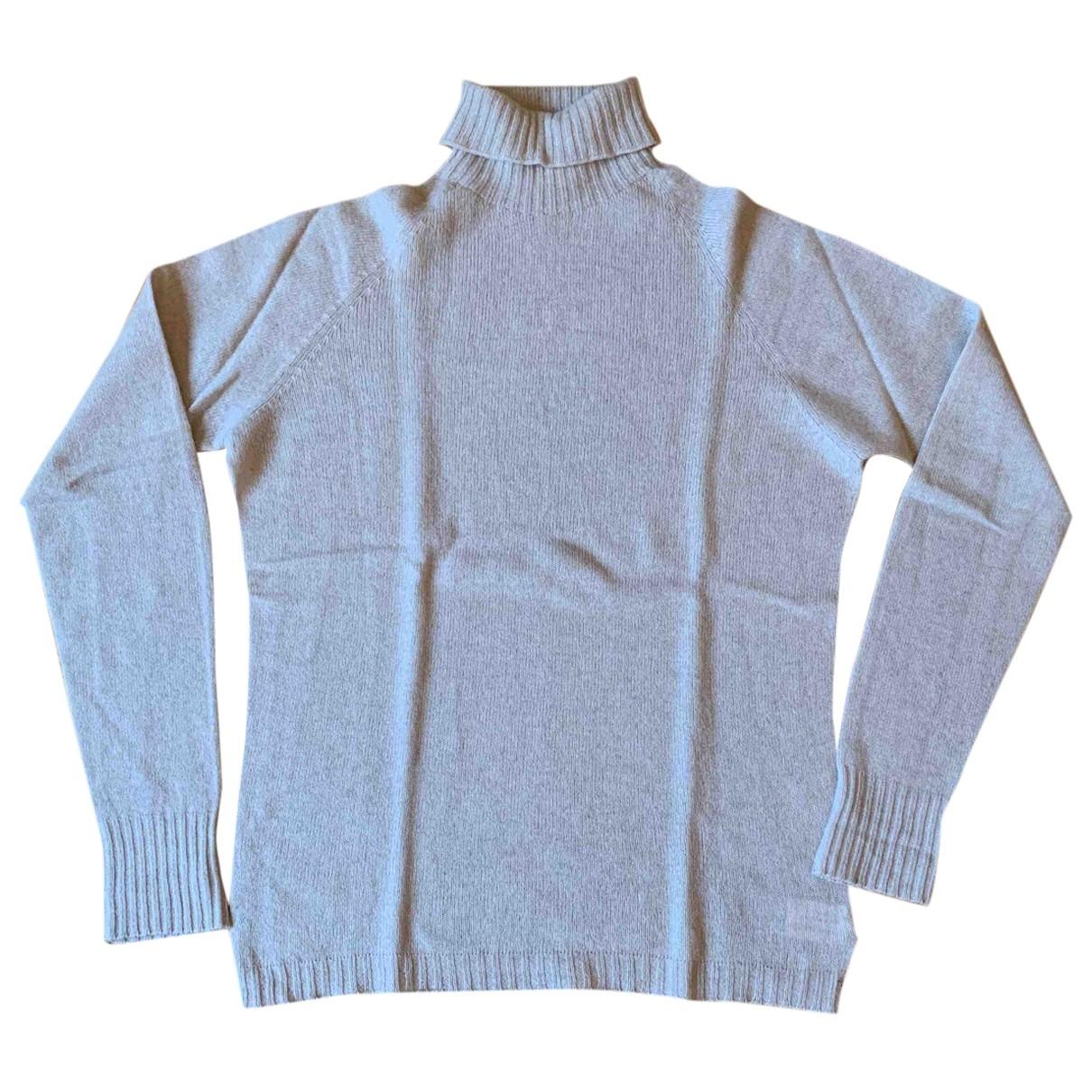 Scaglione - Pull   pour femme en cachemire - beige