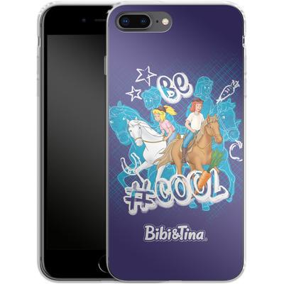 Apple iPhone 7 Plus Silikon Handyhuelle - Bibi und Tina Be Cool von Bibi & Tina