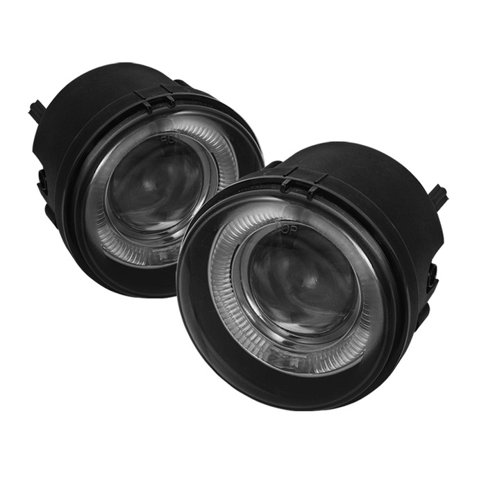 Spyder Auto FL-P-DCH05-HL-SM Smoke Halo Projector Fog Lights with Switch Chrysler Sebring Convertible 08-10