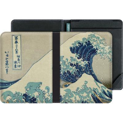 tolino vision eBook Reader Huelle - Great Wave Off Kanagawa By Hokusai von caseable Designs