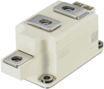 Semikron , SKKT 323/16 E, Dual Thyristor Module, SCR 1600V, 7-Pin T 40