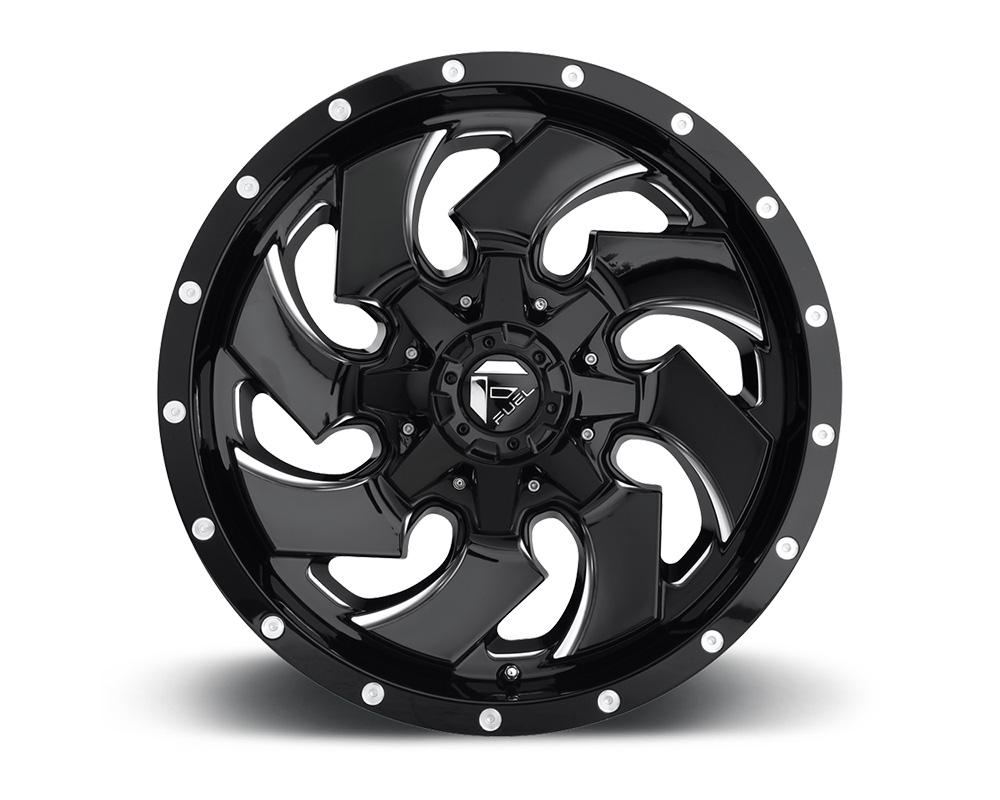 Fuel D574 Cleaver Gloss Black & Milled 1-Piece Cast Wheel 20x10 5x114.3|5x127 -18mm