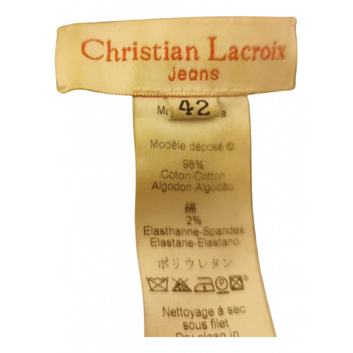 Christian Lacroix - Veste   pour femme en denim - bleu