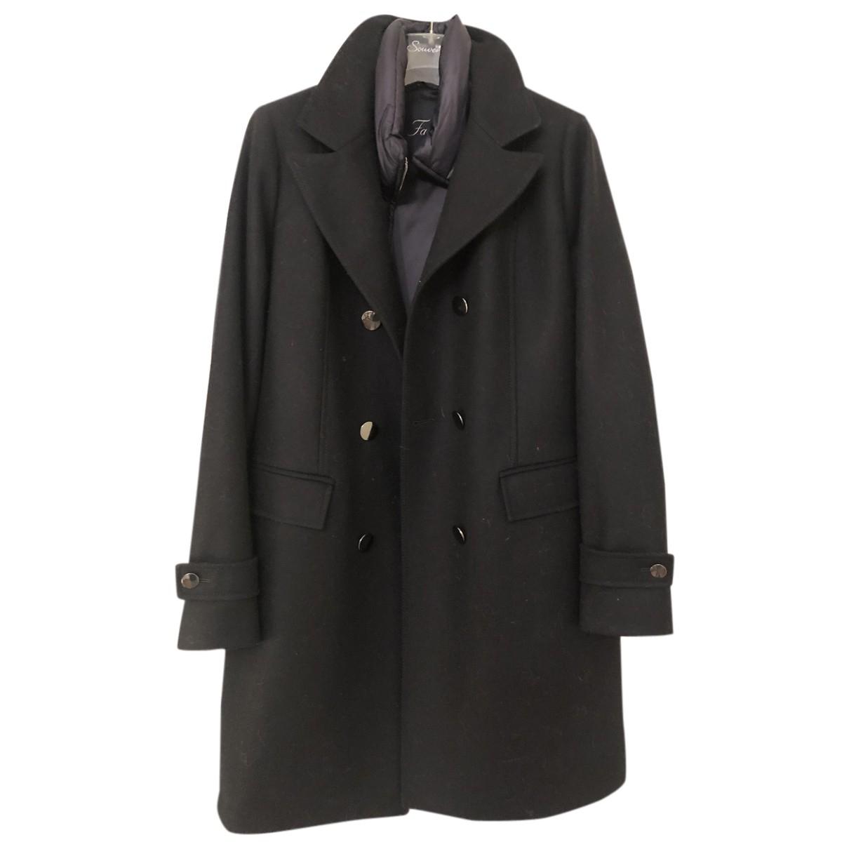 Fay - Manteau   pour femme en laine - bleu