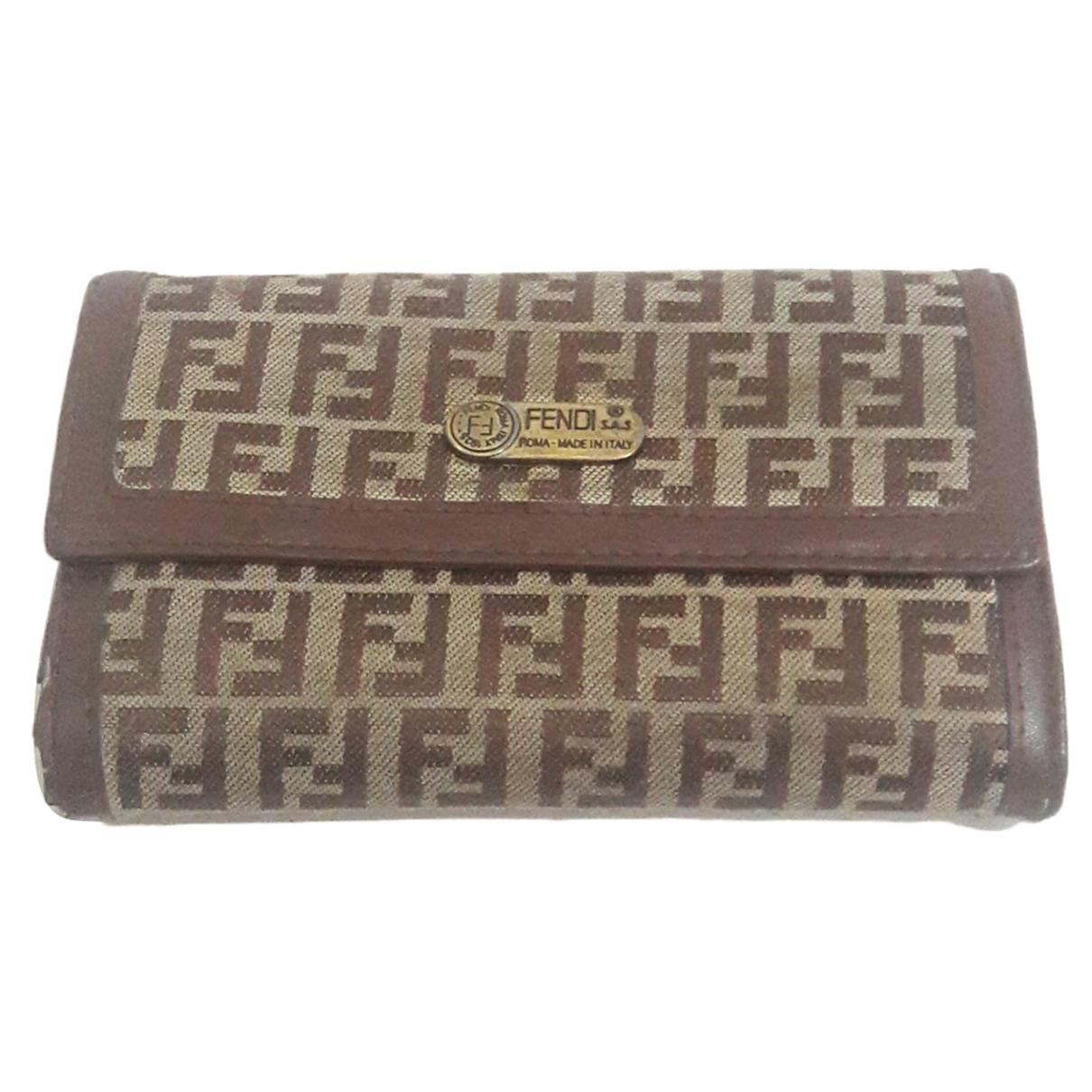 Fendi \N Brown Cloth wallet for Women \N