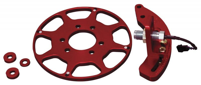 MSD Crank Trigger Kit; Small Block Chevy; 6in. Balancer