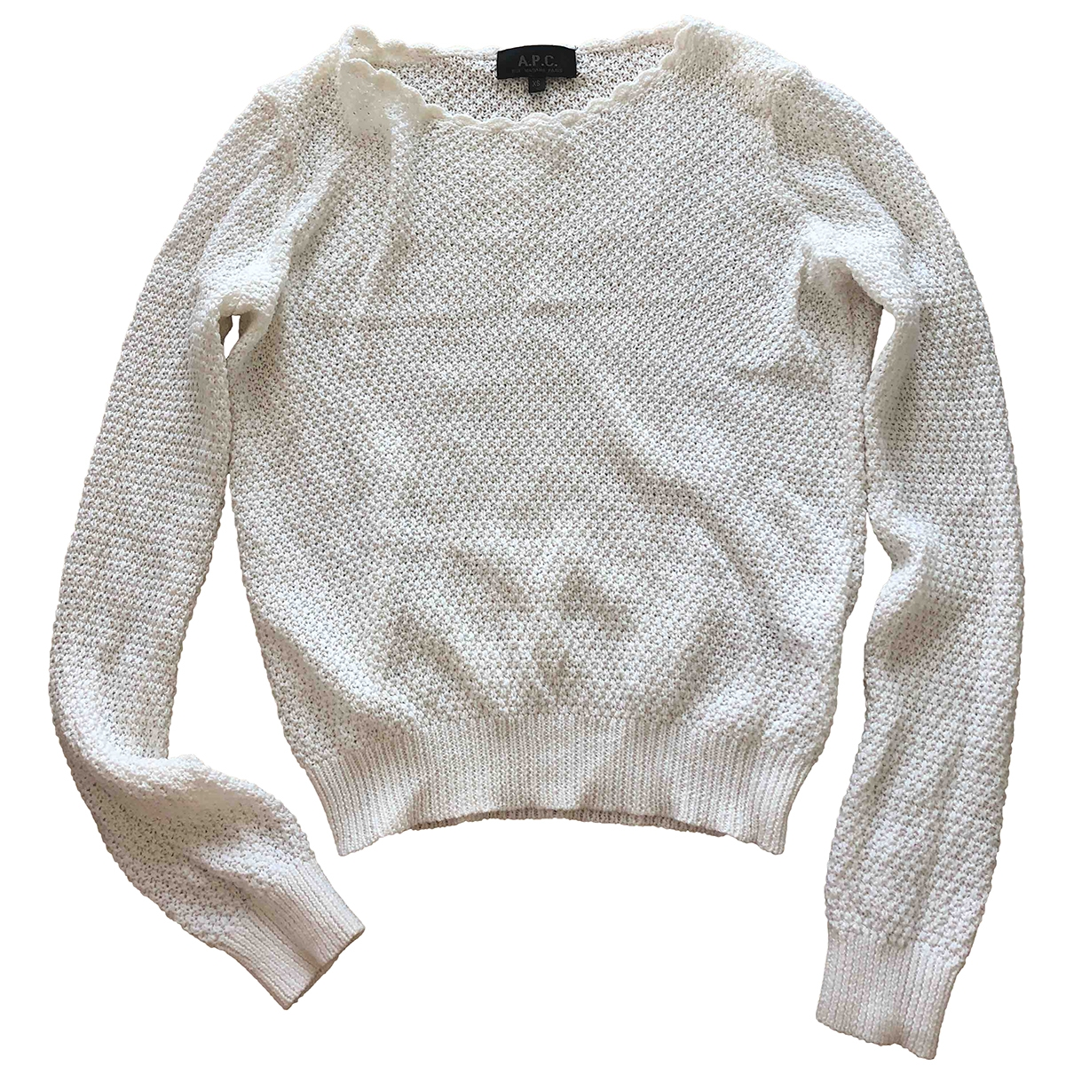 Apc \N White Cotton Knitwear for Women 34 FR