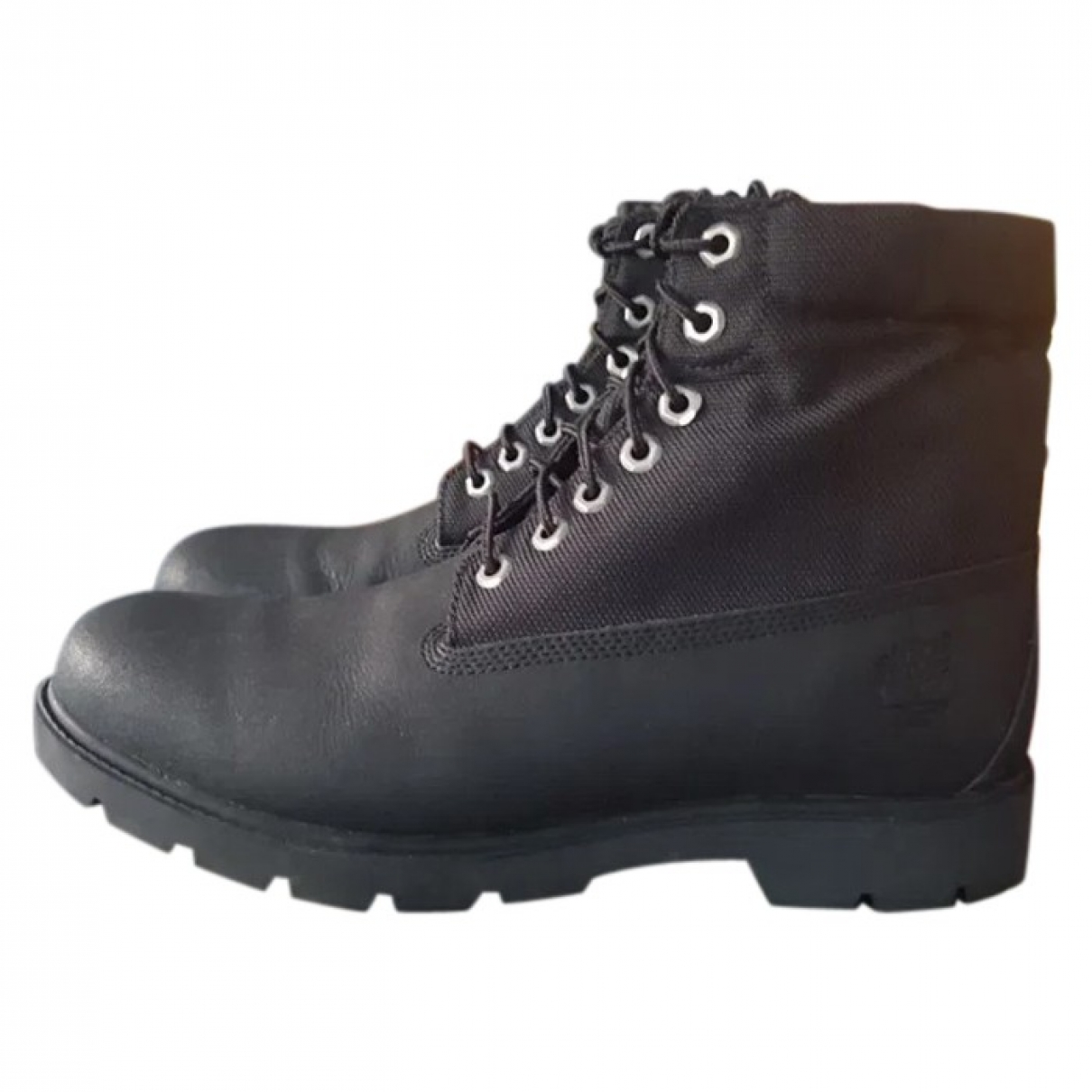 Timberland \N Black Leather Boots for Men 44 EU