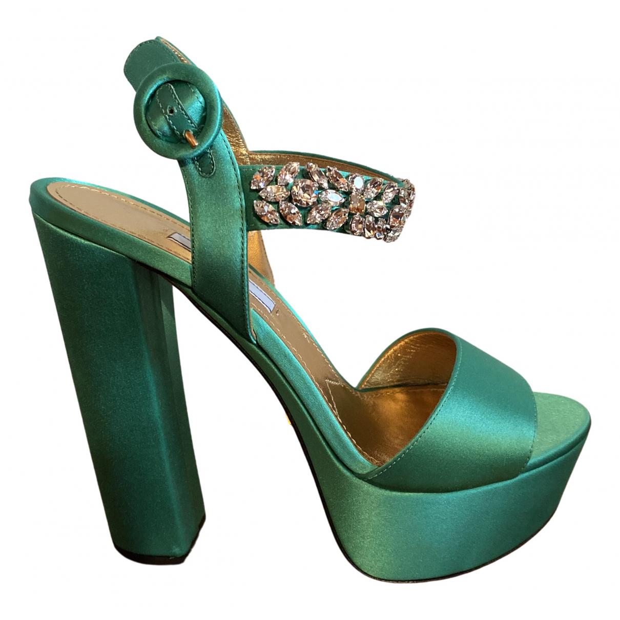 Sandalias de Lona Prada
