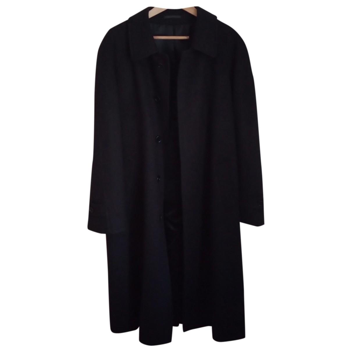 Autre Marque N Blue Wool coat  for Men 48 IT