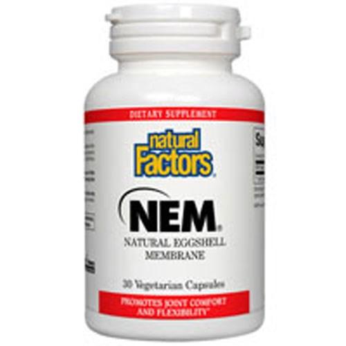 NEM - Natural Eggshell Membrane 60 Veg Caps by Natural Factors