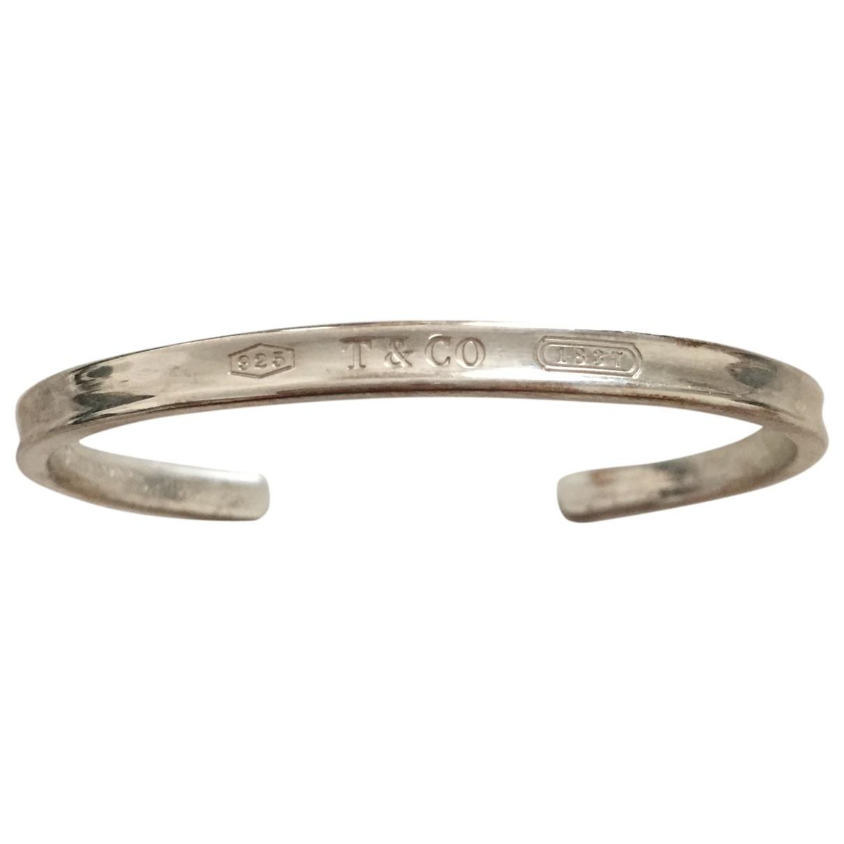 Tiffany & Co - Bracelet Tiffany 1837 pour femme en argent - argente