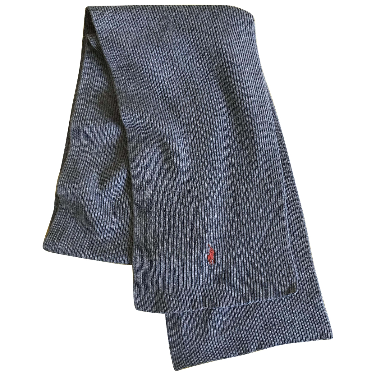 Polo Ralph Lauren \N Blue Wool scarf for Women \N