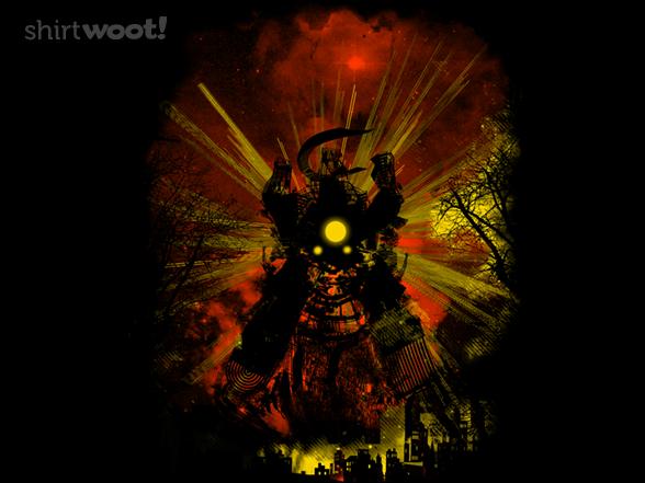 Rise Of The Samurai Bot T Shirt