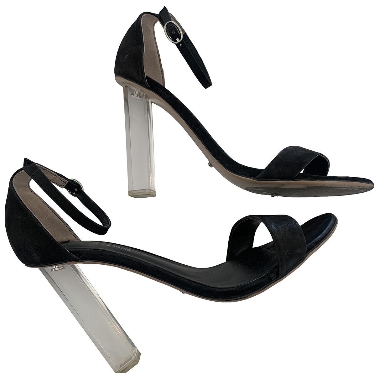 Tony Bianco - Sandales   pour femme en cuir - noir