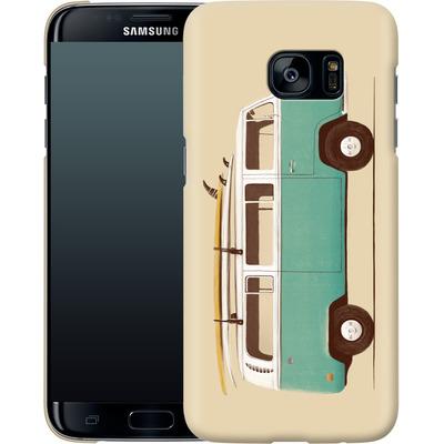Samsung Galaxy S7 Edge Smartphone Huelle - Blue Van von Florent Bodart