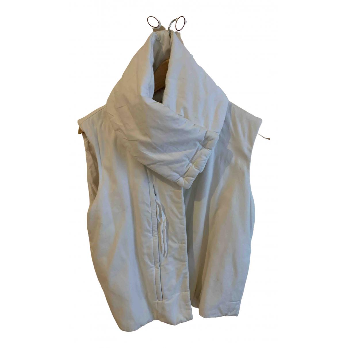 Maison Martin Margiela - Veste   pour femme en coton - blanc