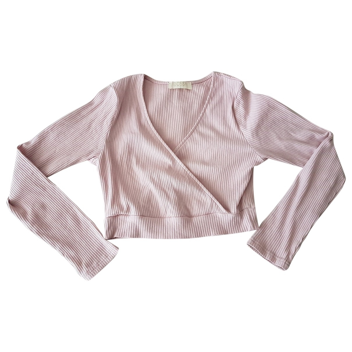 Non Signé / Unsigned \N Pink Cotton  top for Women L International