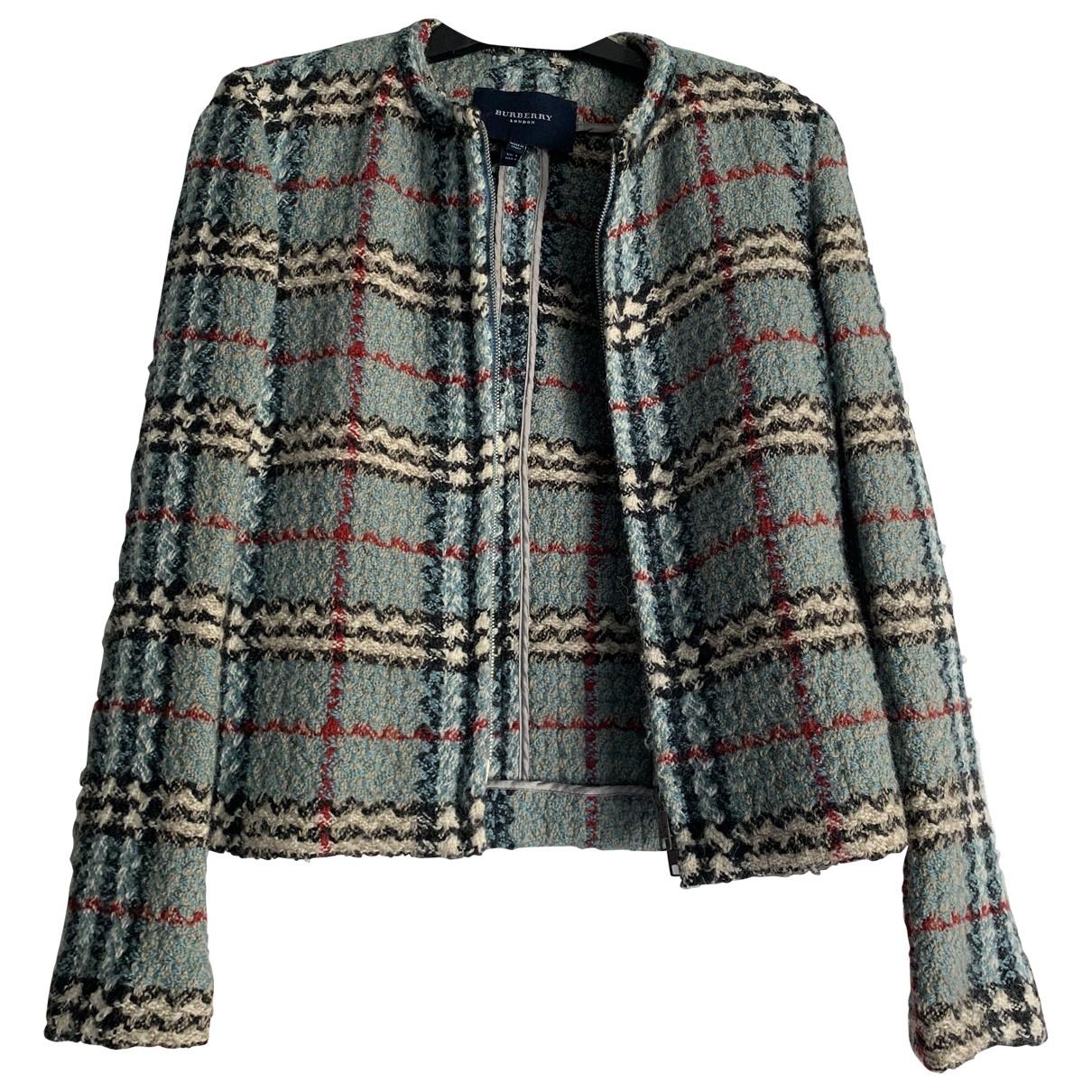 Burberry \N Green Wool jacket for Women 36 FR
