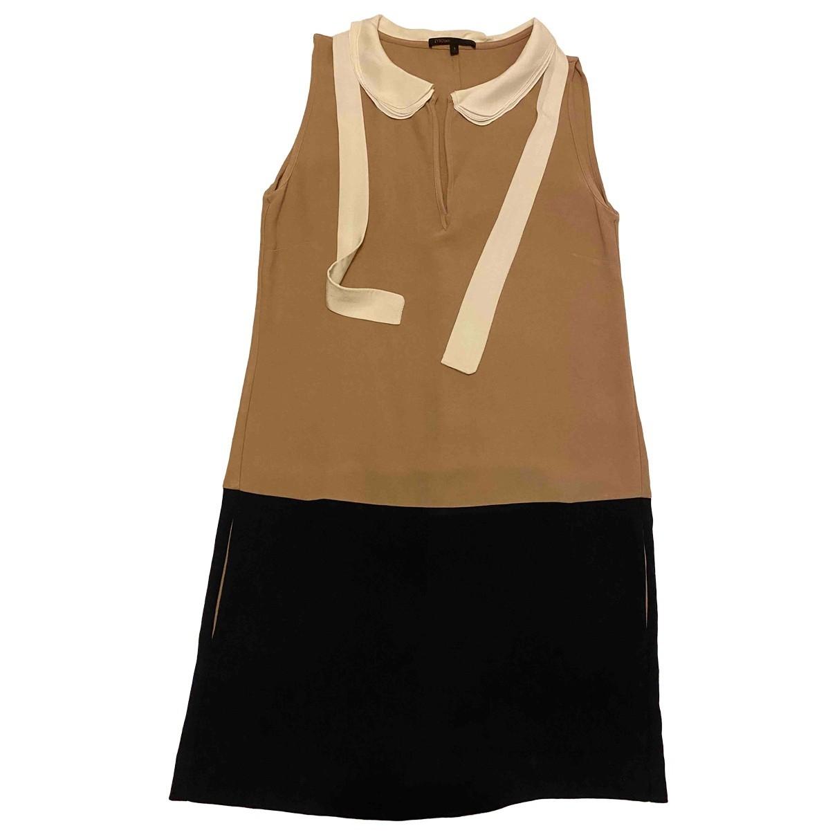 Maje \N Beige dress for Women 1 0-5