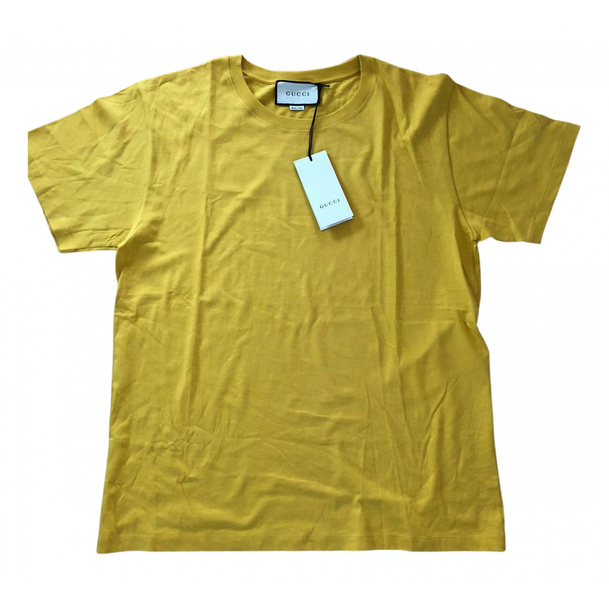 Gucci \N Yellow Cotton  top for Women L International