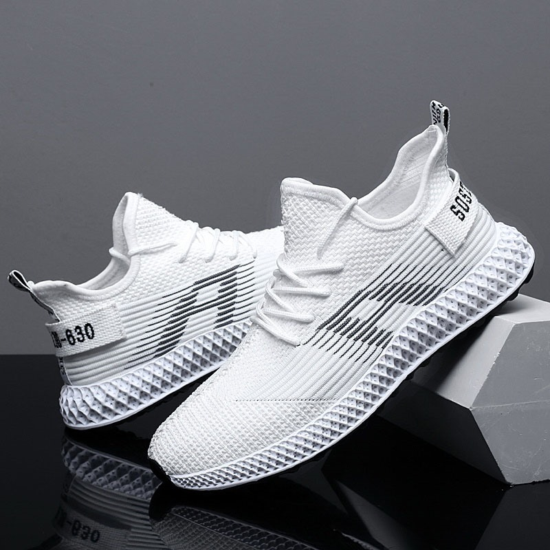 Ericdress Mesh Letter Lace-Up Men's Sneakers