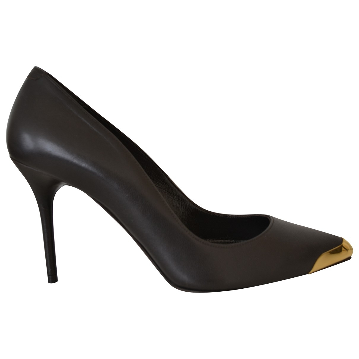 Mcq \N Blue Leather Heels for Women 36 EU