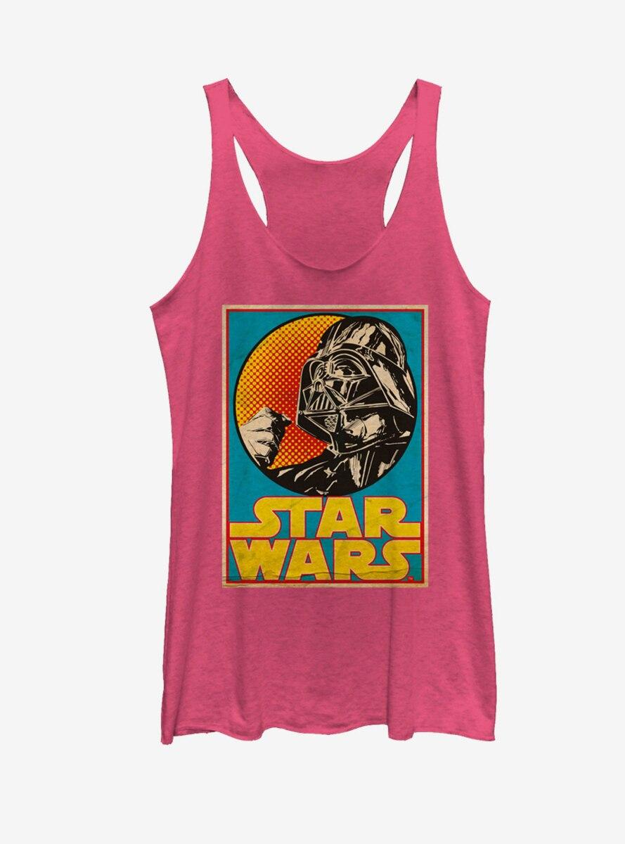 Star Wars Darth Vader Trading Card Womens Tank