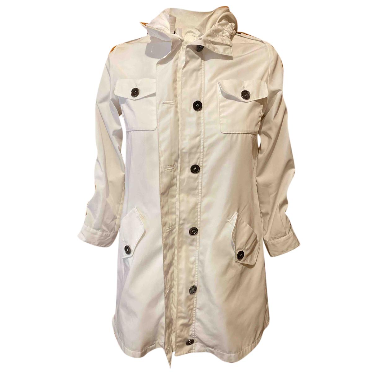 Burberry - Blousons.Manteaux   pour enfant - blanc