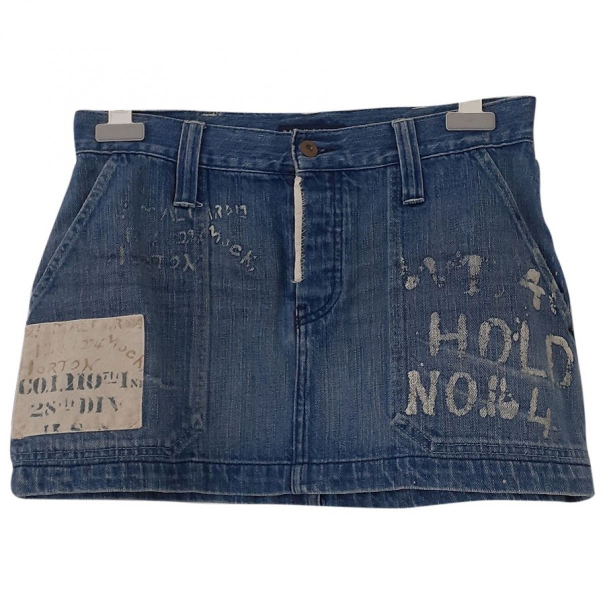 Ralph Lauren \N Rocke in  Blau Denim - Jeans