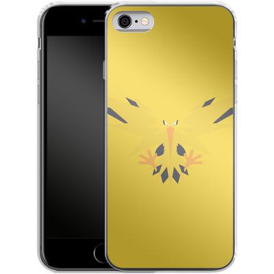 Apple iPhone 6s Silikon Handyhuelle - Zapdos by Lucian Foehr von Lucian Foehr