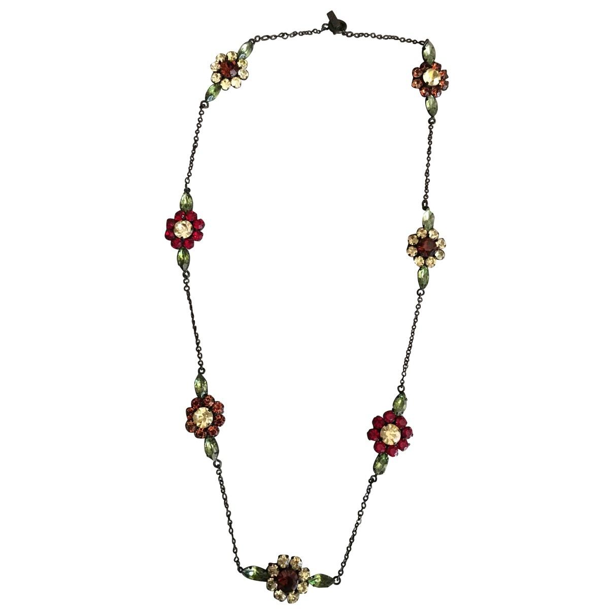 Moschino \N Halskette in  Bunt Kristall
