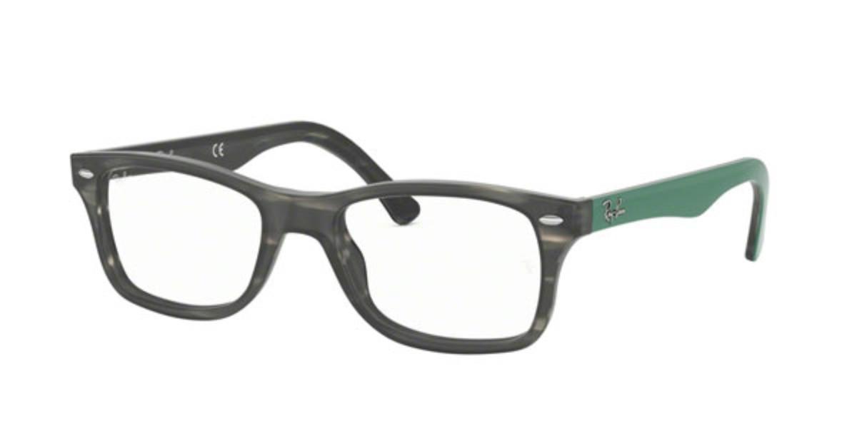 Ray-Ban RX5228 Highstreet 5800 Men's Glasses Tortoise Size 50 - HSA/FSA Insurance - Blue Light Block Available