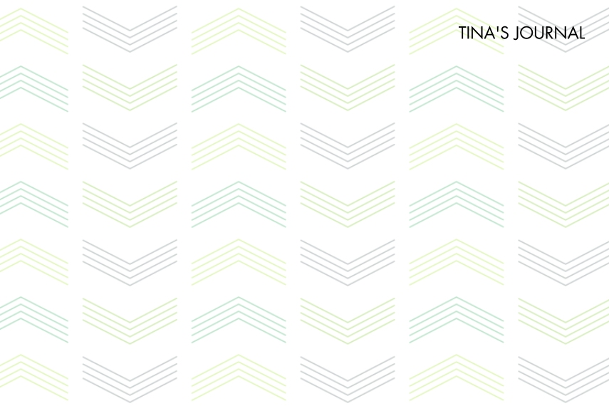Notebooks and Journals Softcover Journal, Card & Stationery -Chevron