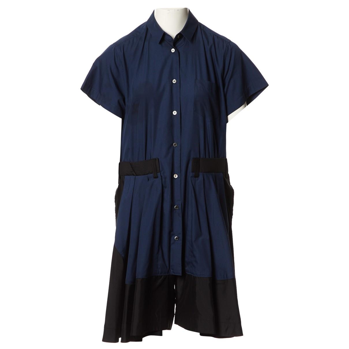 Sacai - Combinaison   pour femme - bleu