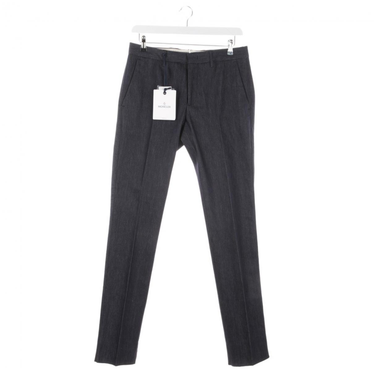 Moncler \N Blue Jeans for Women 44 FR