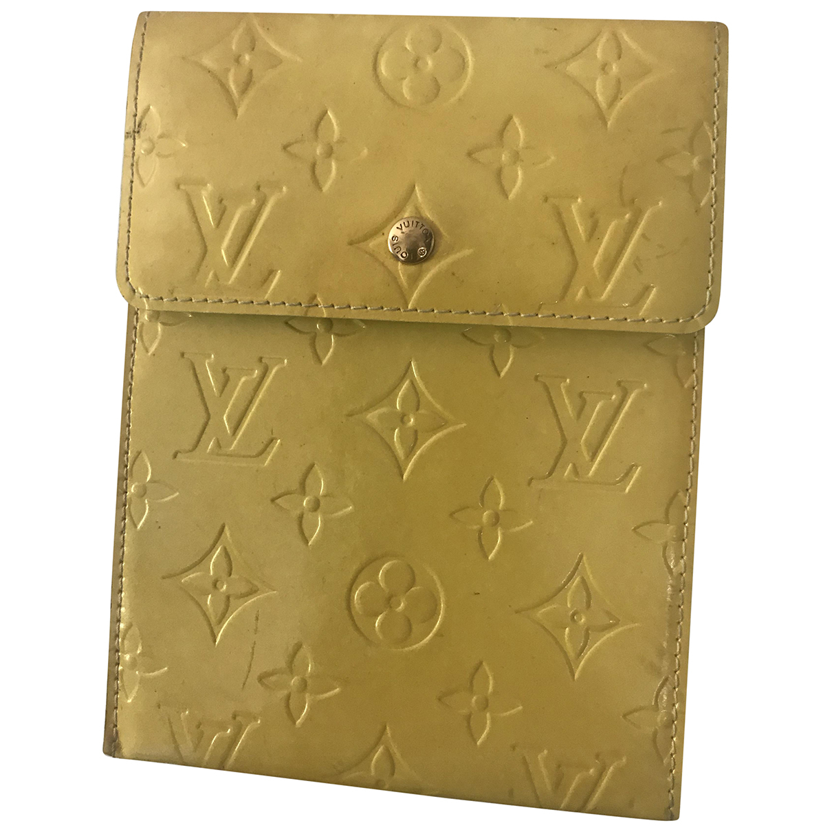 Louis Vuitton \N Yellow Leather Clutch bag for Women \N