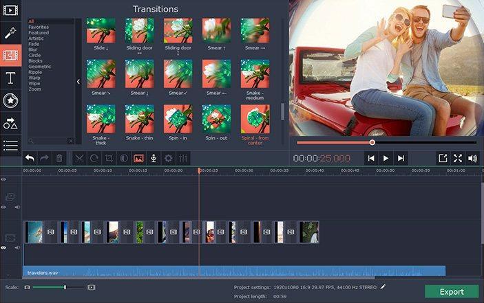 Movavi Video Editor 15 Key (Lifetime / 1 PC)
