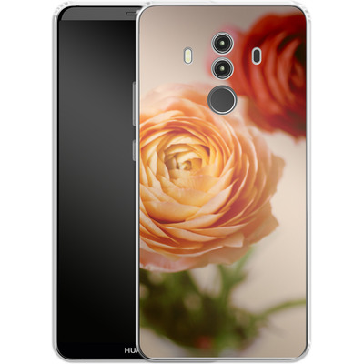 Huawei Mate 10 Pro Silikon Handyhuelle - She Loved Flowers von Joy StClaire