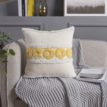 Tufting Embroidery Cushion Cover Without Filler