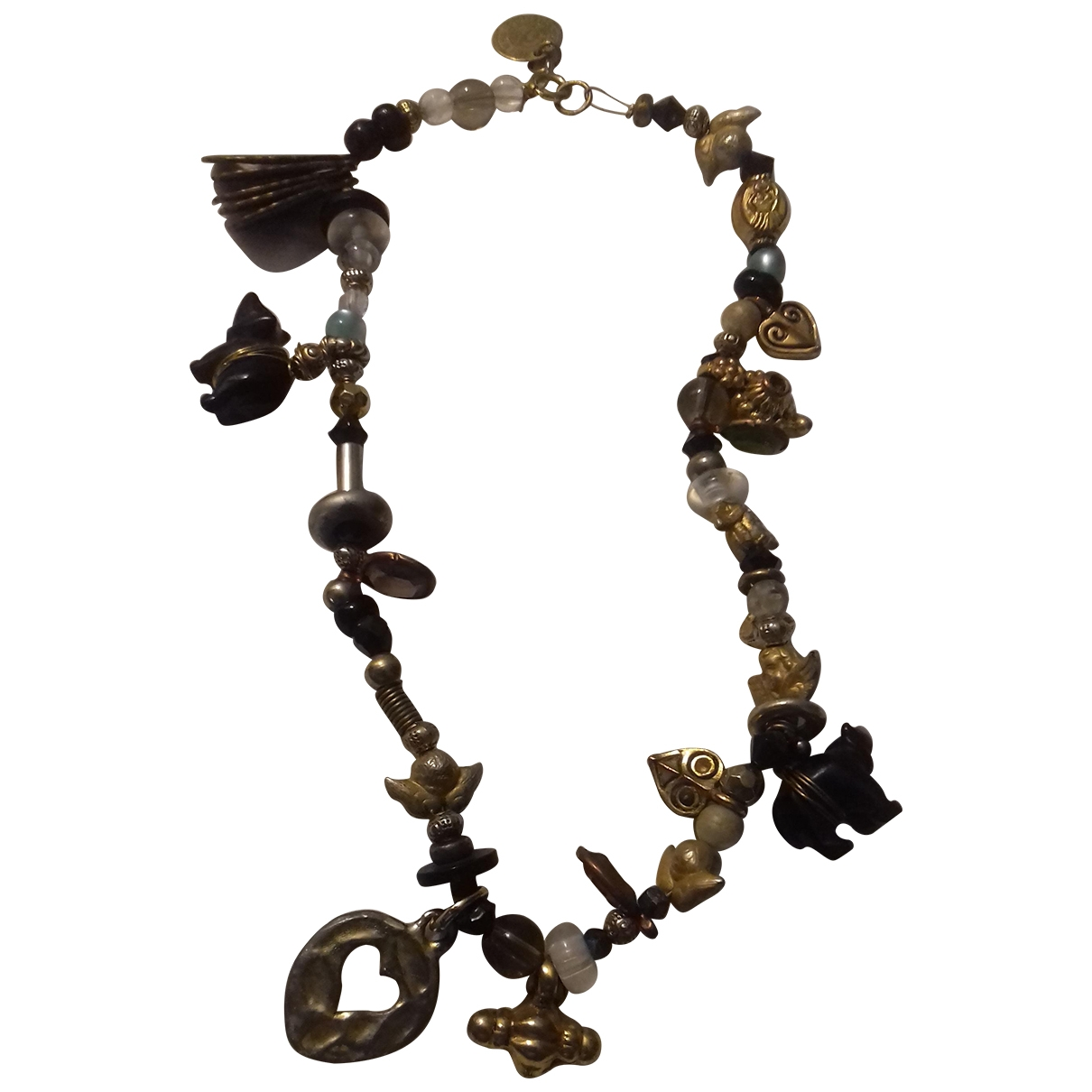 Reminiscence \N Gold Pearl necklace for Women \N