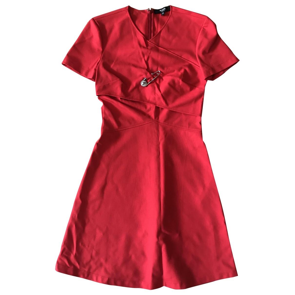 Versus - Robe   pour femme - rouge