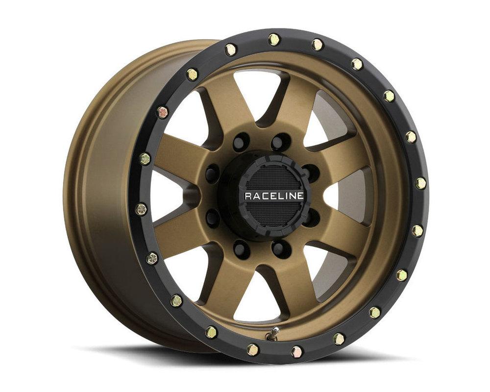 Raceline 935BZ Defender Bronze w/ Black Ring Wheel 20X9 5X127 18mm