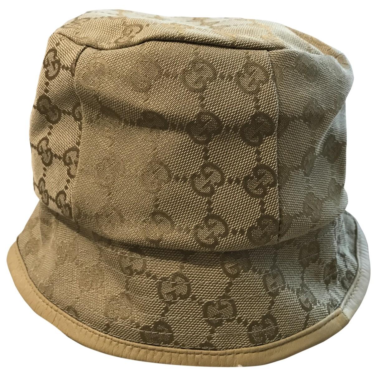 Gucci \N Beige Cloth hat for Women S International