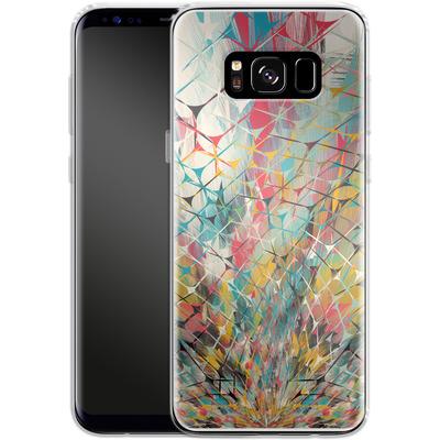 Samsung Galaxy S8 Silikon Handyhuelle - Spider Explosion von Danny Ivan